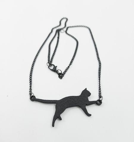 Collar Gato negro