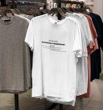 Camiseta H Blanca Feminista Negro