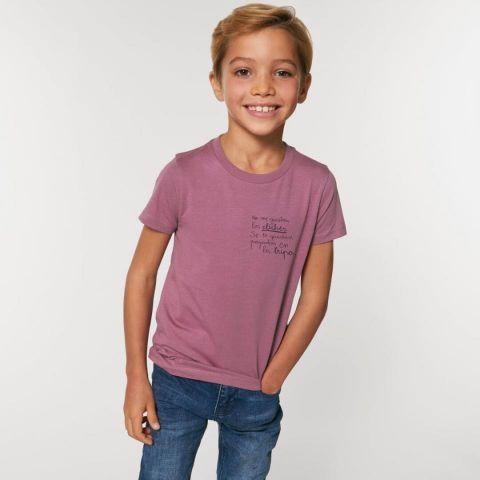 Camiseta corta Clichés -Bink & Plue-