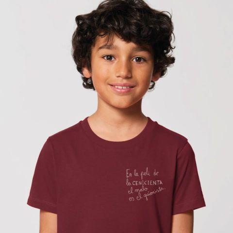 Camiseta corta Cenicienta -Bink & Plue-