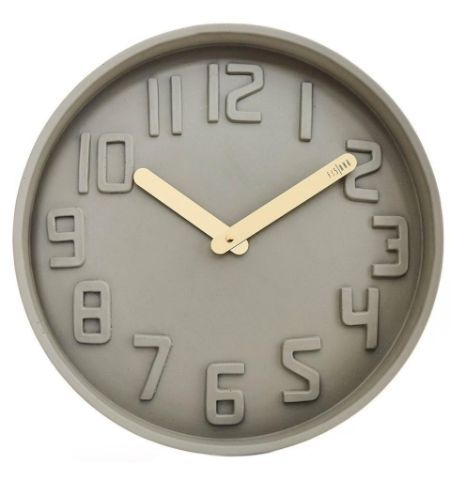 Reloj de Pared de Concreto