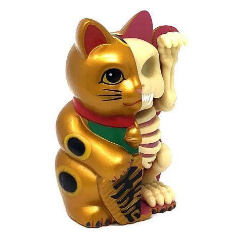 Jason Freeny Lucky Cat Gold