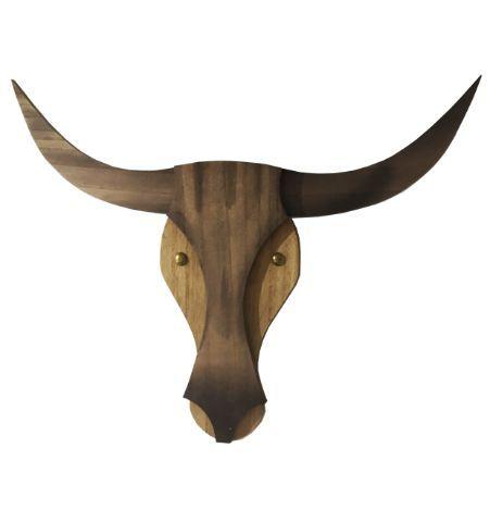 Animales de Madera - Vaca