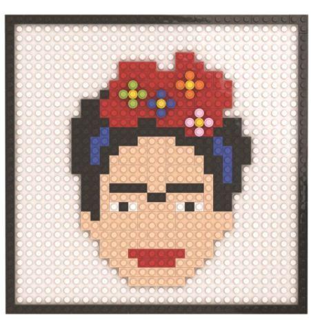 Frida retrato Pixel