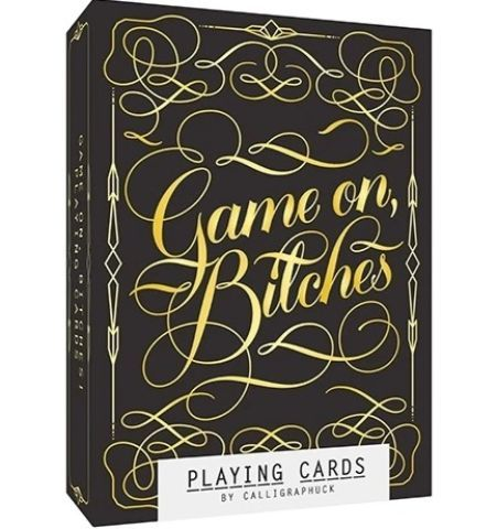 Cartas Game On, Bitches