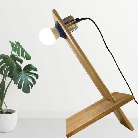 Lámpara articulada Madera