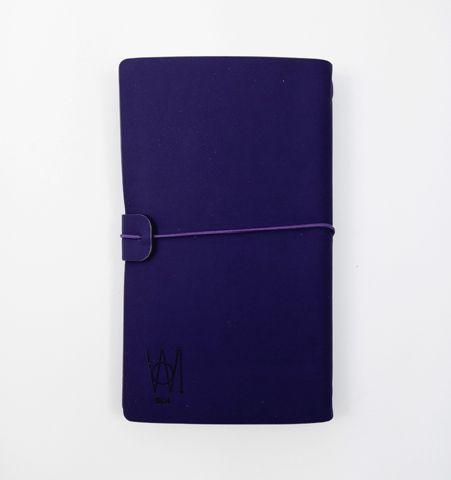 Libreta de Viaje Violeta