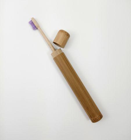 Estuche bambú para Cepillo