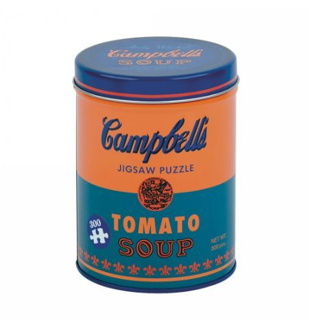 Puzzle Lata de Sopa Andy Warhol 300 Piezas - Naran