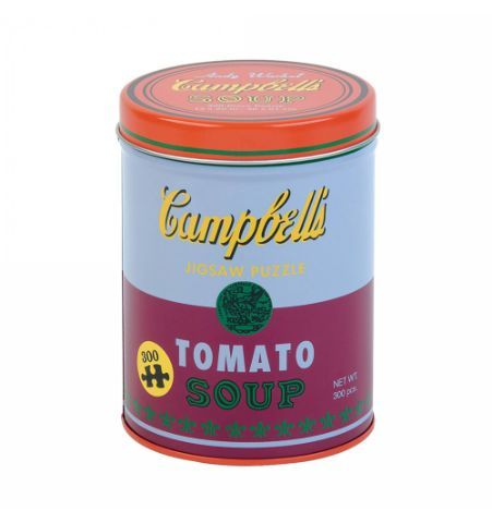 Andy Warhol Soup Can Red Violet 300 Piece Puzzle L