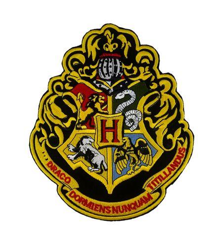 Parche Escudo Hogwarts