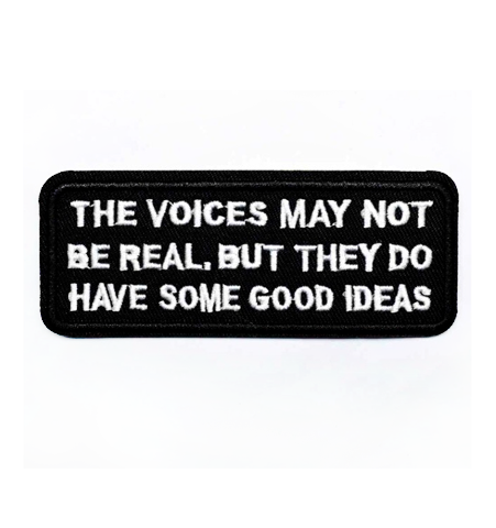 Parche The Voices May Not Be Real….