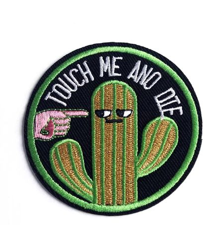 Parche Touch Me And Die… Cactus