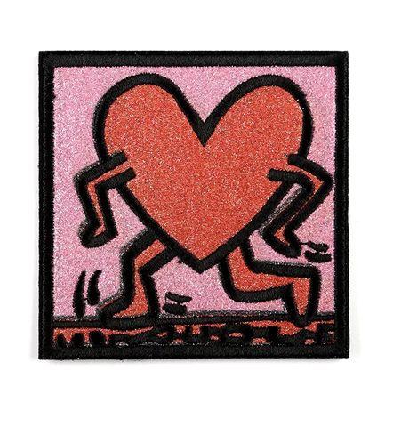 Parche Corazón Keith Haring