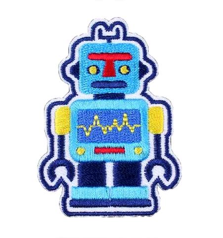 Parche Robot Celeste