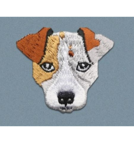 Parche Perro Realista Jack Russell