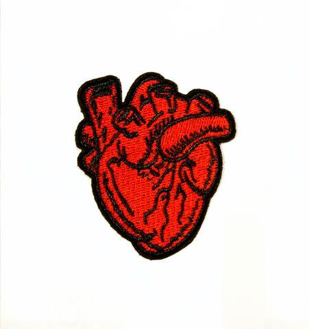 Parche Corazon Anatomico Realista