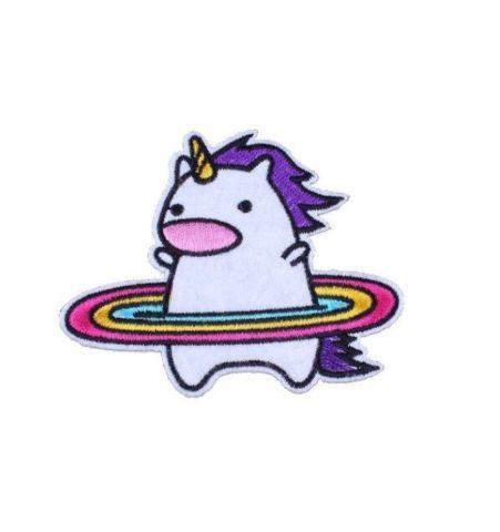 Parche Unicornio con Arcoiris