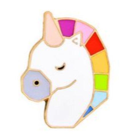 Pin Unicornio Colores
