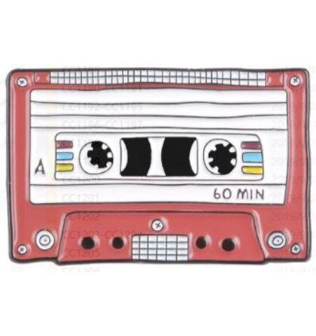 Pin Cassette Rojo