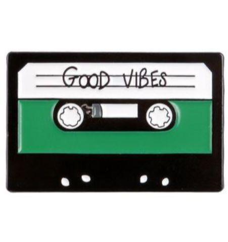 Pin Cassette Verde