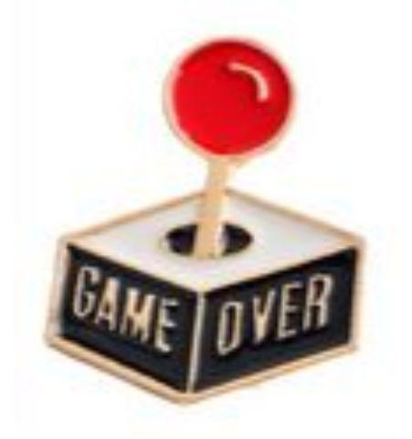 Pin Joystick Game Over