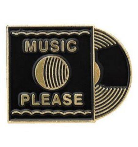 Pin Music Please