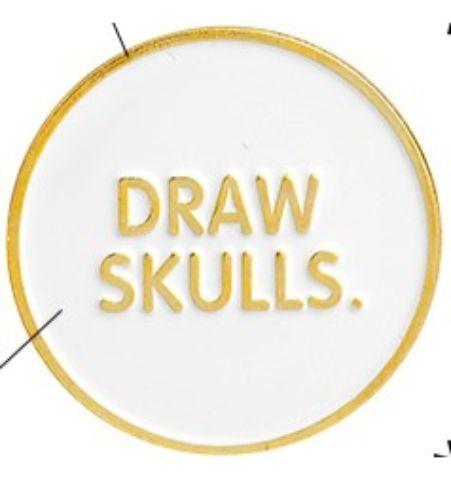 Pin Draw Skulls
