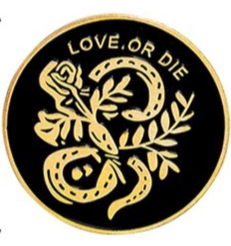 Pin Love Or Die Circular