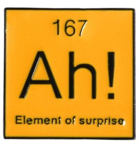 Pin Ah…Element of Surprise