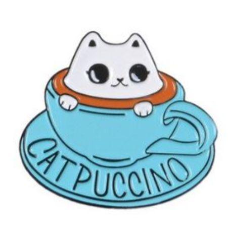 Pin Catpuccino