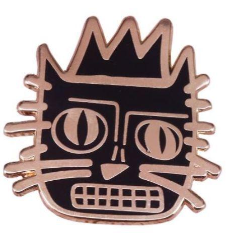 Pin Gato Basquiat