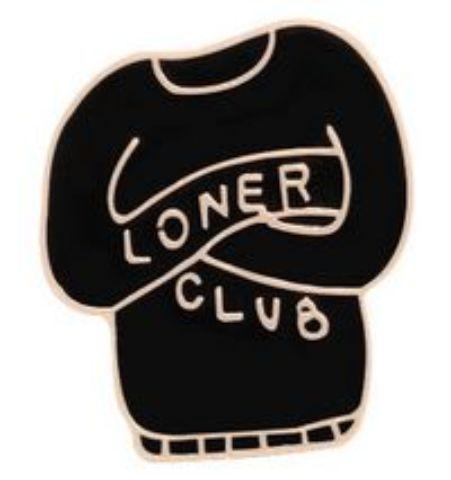 Pin Loners Club Sweater