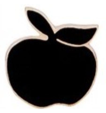 Pin Manzana Negra