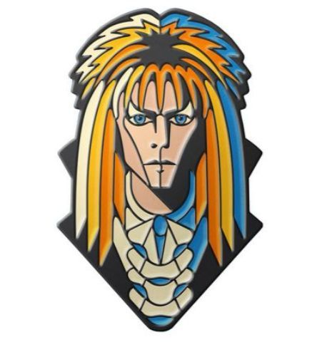 Pin Bowie Laberinto