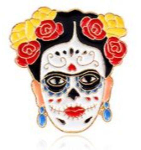 Pin Frida Catrina