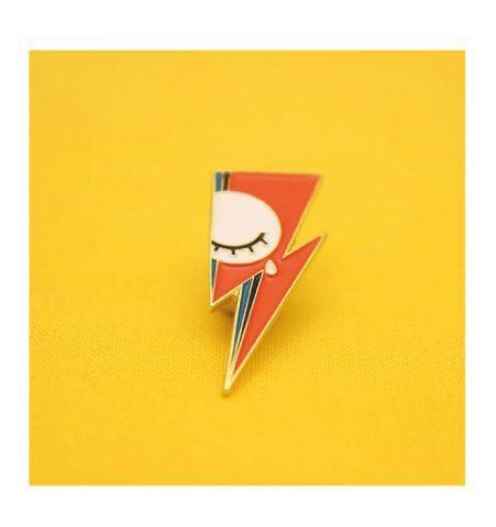 Pin Rayo Bowie con ojito