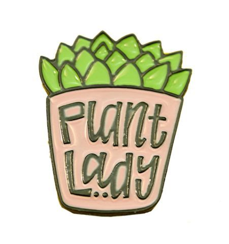 Pin Plant Lady
